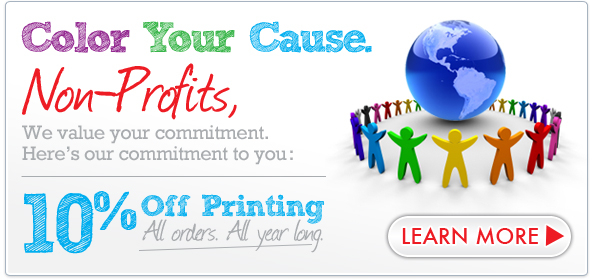 Non Profit Print Marketing